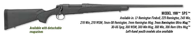 Remington Model 700 SPS