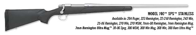 Remington Model 700 SPS Stainless